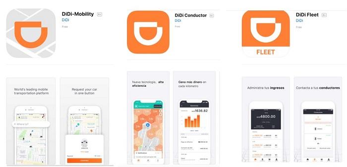 Мобильные приложение didi