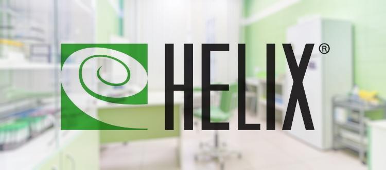 Лабораторная служба Хеликс лого