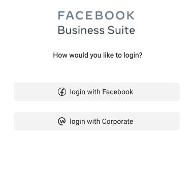 Вход в рекламный кабинет Фейсбук