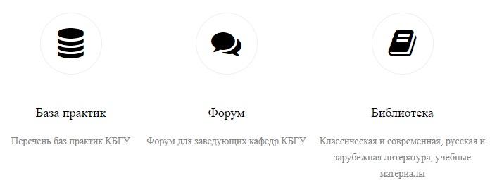КБГУ функционал
