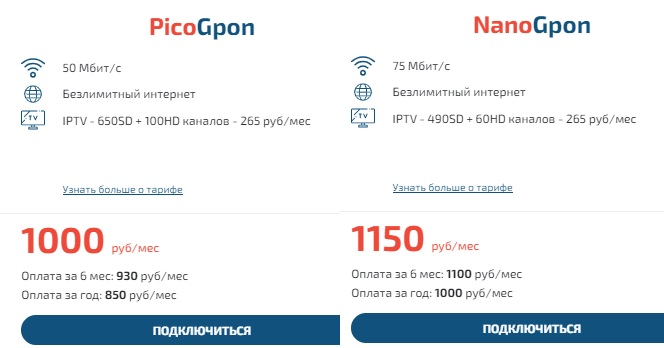 OmegaCONNECT тарифы