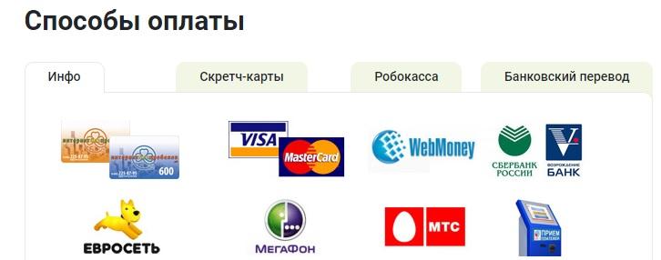 vnu.ru оплата