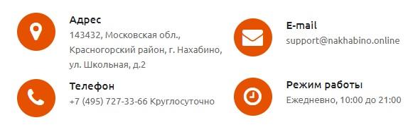 Нахабино.ру контакты
