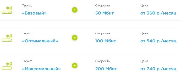 VN-Телеком тарифы