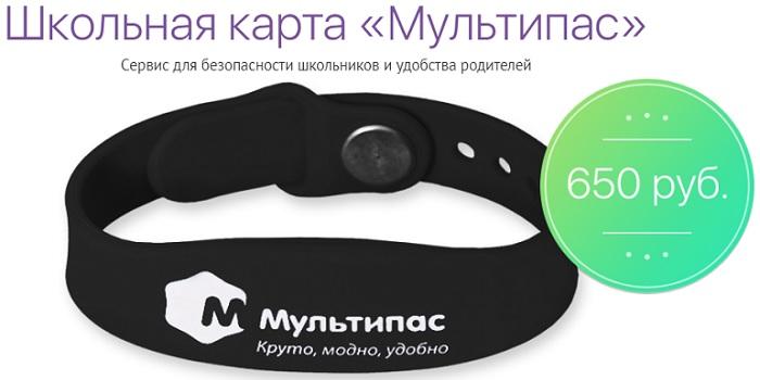 "Школьная карта ""Мультипас"""""