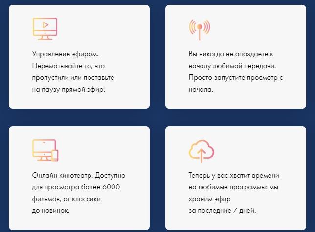 TincoNet услуги