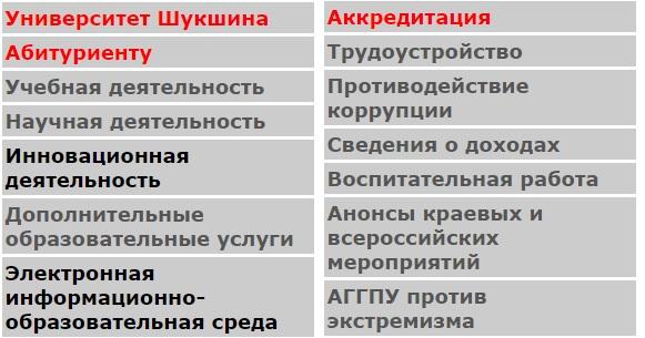 АГГПУ сервисы