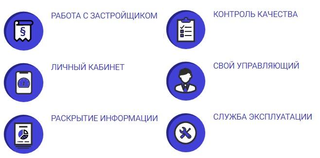 Общее Дело услуги