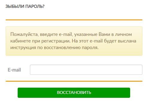 Егорьевские инженерные сети пароль