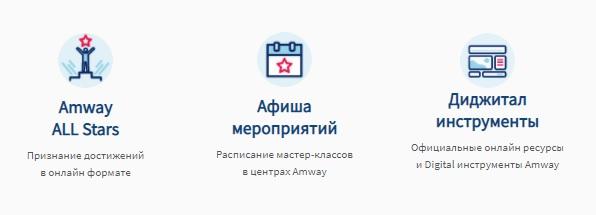 Amway функции