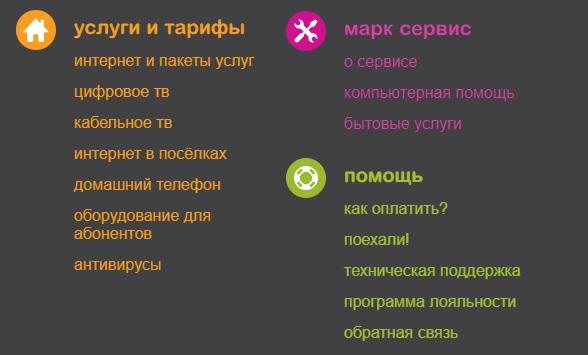 Марк-ИТТ услуги