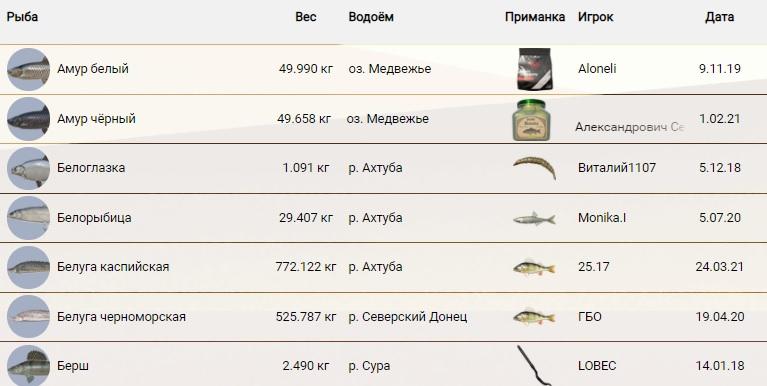 РР4 рекорды