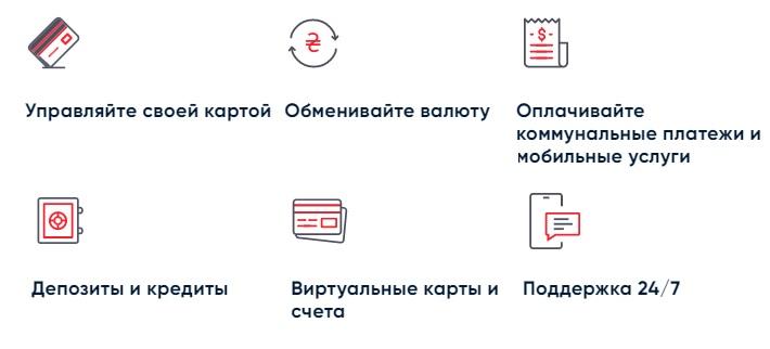ПУМБ Online услуги