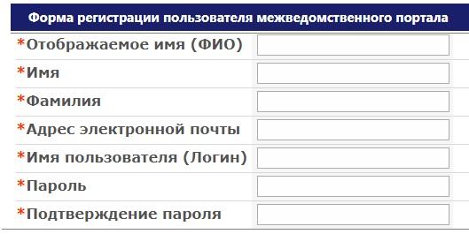 портал Росимущества регистарция