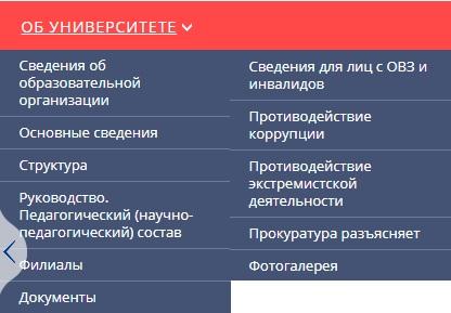 СПбГУГА информация