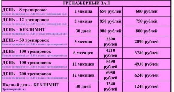 Рельеф прайс