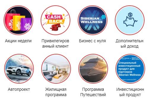 Сибирское здоровье услуги