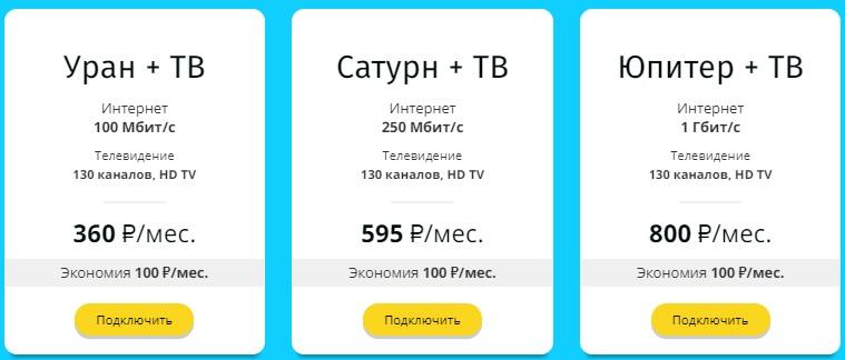 ПушкинNet услуги