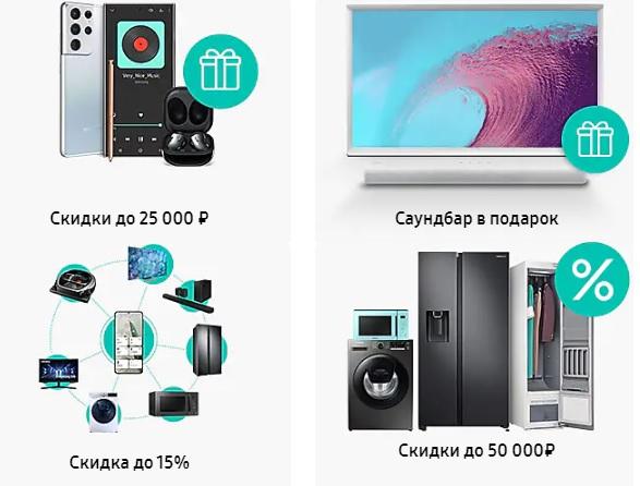 Samsung акции продукция